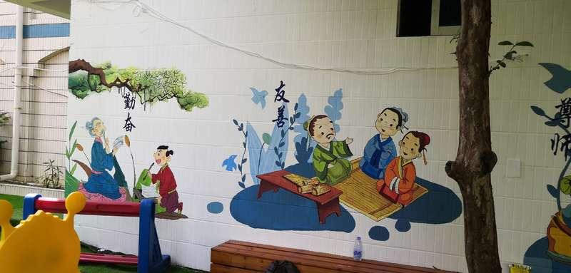 墙体画,喷绘墙体,家装手绘墙公司