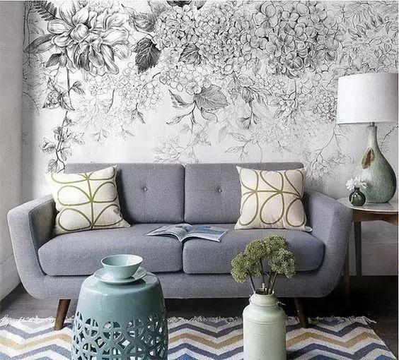 墙绘可装饰的地方其实有很多