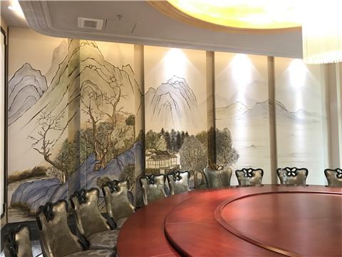 手绘墙绘如何设计才能在室内大放光彩?